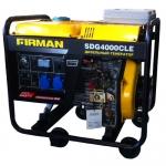 Дизельный генератор на колесах  3 кВт FIRMAN SDG 4000 CLE