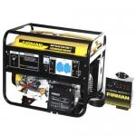 Бензиновый генератор SPG6500E1 ATS