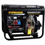 Дизельный генератор FIRMAN FDG5800TCXE2